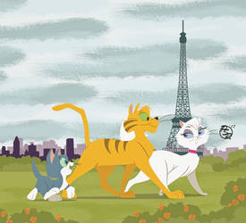 Gay Purr-ee: The High Life in Paris by BrisbyBraveheart