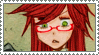 Stamp - Kuroshitsuji: Grell 2 by Suxinn