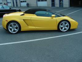 Yellow Lamborghini by ticklemeimsexy