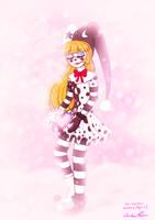 Pink Love Snow by TigerToony