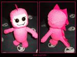 Pink GodZilla by Xphronvistle