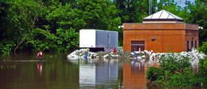Cedar Rapids water pump by Xphronvistle