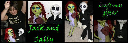 Jack and Sally by Xphronvistle