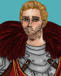 Dragon Age: Cullen Rutherford bust by RubberDuck4LUNCH