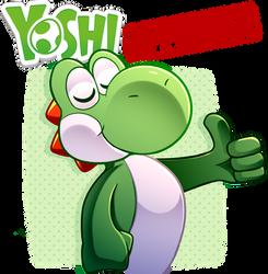 Yoshi APPROVES!! by LucarioOcarina