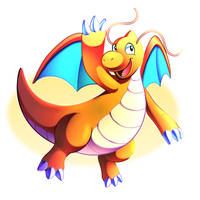 Dragonite by LucarioOcarina