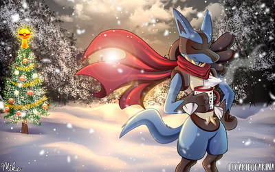 Cocoa on a Winter's Day by LucarioOcarina