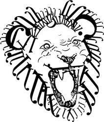 Typographic Lion by PheonixKarr