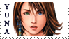 Final Fantasy X Yuna Stamp by JackdawStamps