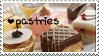 Pastries Stamp by JackdawStamps