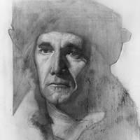 Mark Rylance as Thomas Cromwell WIP by bris1985