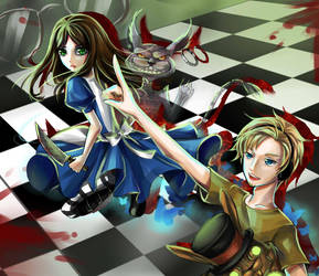 Pewdiepie Plays: Alice Madness Returns by HikariTenjou