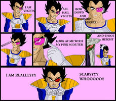 I AM VEGETA remake by Dbzbabe