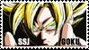ssj goku stamp by Dbzbabe