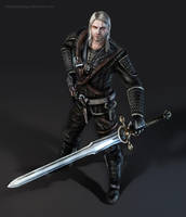 The Witcher by BlackAssassiN999