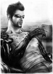 Adam shirtless by BlackAssassiN999