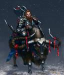 North Dwarven Warrior by BlackAssassiN999
