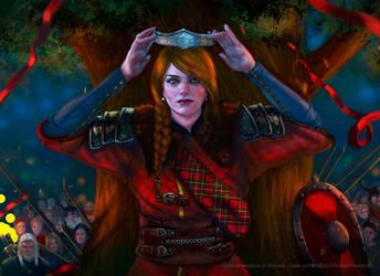 Queen Of Skellige by BlackAssassiN999