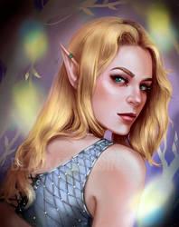 Elf girl by BlackAssassiN999