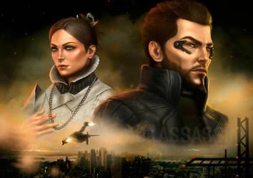 Deus Ex Human Revolution Cover by BlackAssassiN999