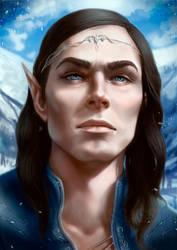 Frost Elven Mage by BlackAssassiN999