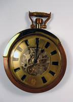 Steampunk Pocket Watch by dravensinferno