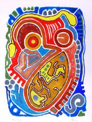 Tribal Markings by phoebethomasson