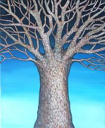 Tree Acrylic by phoebethomasson