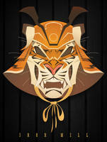 Samurai Tiger Mask by gelipe