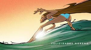 Happy Birthday Cesar Moreno by gelipe