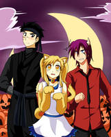 AnD Halloween 2012 by meguland