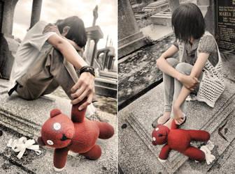 teddy and bear by aNdikapatRya