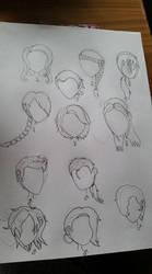 Lovely Hair by MysticalBats