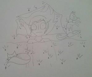 Flea Infestation by MysticalBats