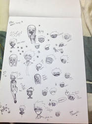 Etho doodles by Natsee-Dragneel