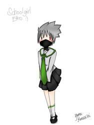Schoolgirl! Etho by Natsee-Dragneel