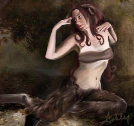 steamy satyr by JAck-n-SAlly