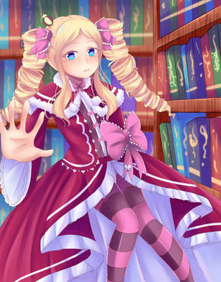 Collab with Rinciti - Beatrice by shigeru-chan