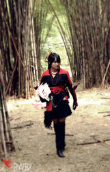 Raven branwen RWBY cosplay by rizublake