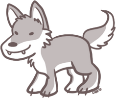 Goofy Wolf by raizy