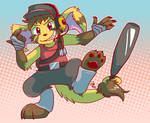 Commission - Jakkai Scout by raizy