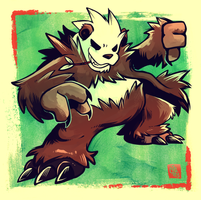 One Bad Panda by raizy