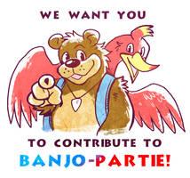 Banjo-Partie! Wants You by raizy