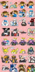 Slightly Damned Telegram Stickers by raizy