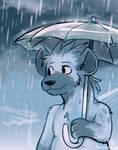 Guff in the Rain by raizy