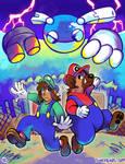 Lucky and Guff: Superstar Saga by raizy
