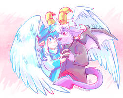 Cutie Couple by raizy