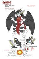 Sakido 2017 Ref Sheet by raizy