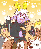 Puppy Party by raizy