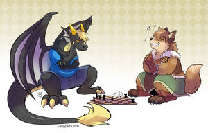[Commission] Glaurung vs. Caleb by raizy